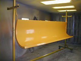Snow plow referbishing and powder coating in Twinsburg Ohio for our Cleveland Ohio customers in Summit and Cuyahoga County!