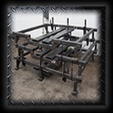 At Extreme Fabrication, we fabricate tube frame weldments including tube bending!