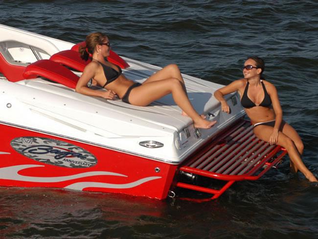 Replacement Aluminum Swim Platforms Manufactured On The